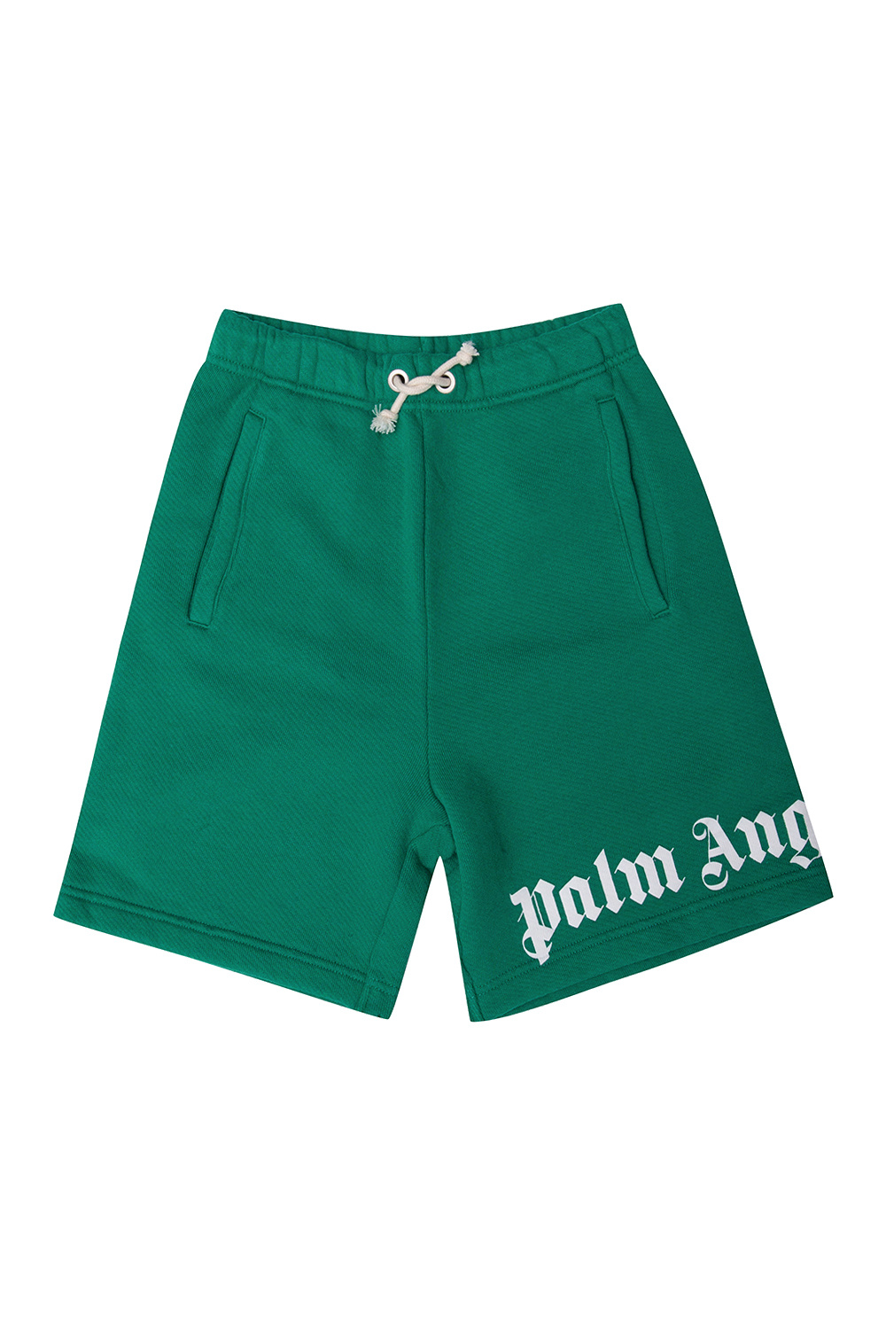 Palm Angels Kids Sweat shorts with logo