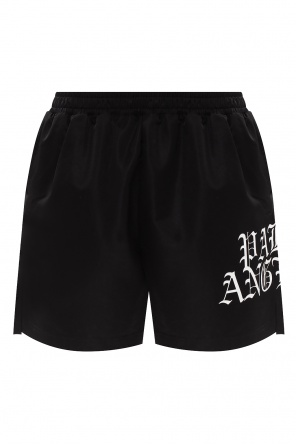 Branded swim shorts od Palm Angels