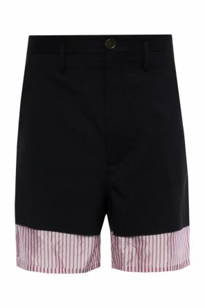 Raw-trimmed shorts od Marni