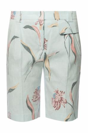 Floral motif shorts od Paul Smith