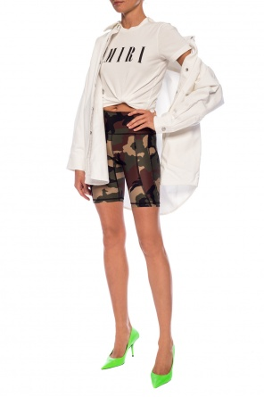 Camo pattern shorts od R13