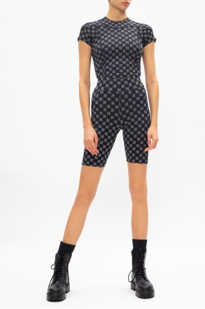 'reflective monogram' shorts od MISBHV