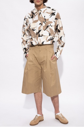 Pleated shorts od Lanvin