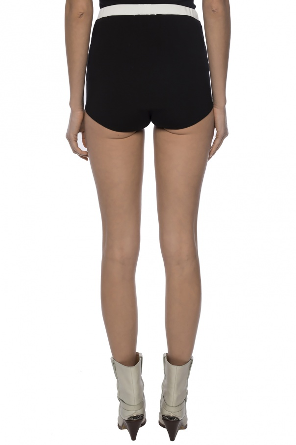 High-waisted shorts od Red Valentino