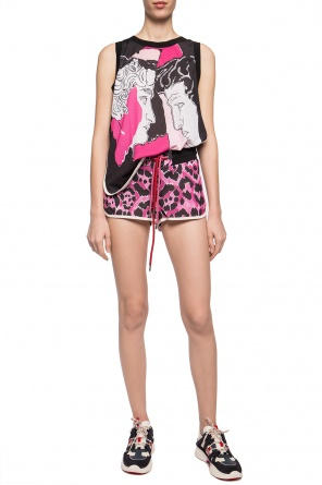 Patterned sweat shorts od Just Cavalli
