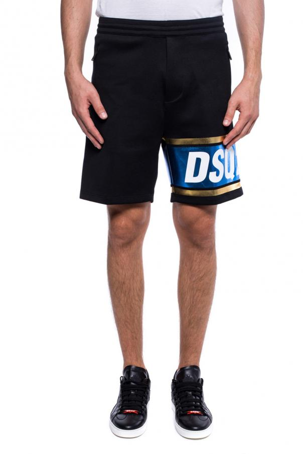 Printed sweat shorts od Dsquared2
