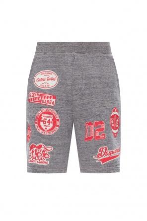 Printed sweat shorts od Dsquared2