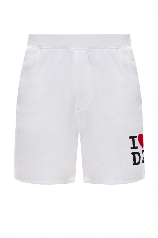 Dsquared2 Logo-printed shorts