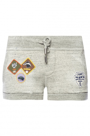 Patched shorts od Dsquared2