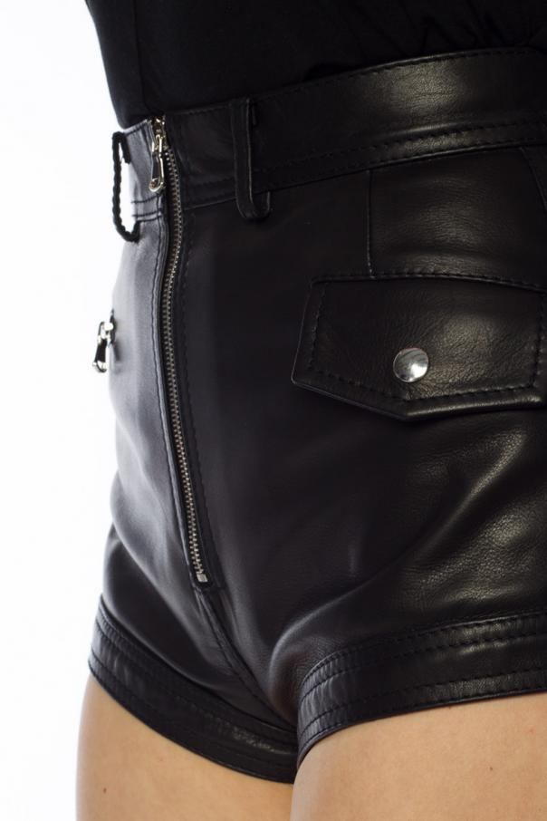 Leather shorts od Diesel Black Gold