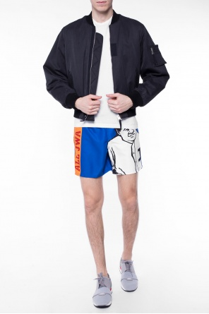 Printed swimming shorts od J.W. Anderson