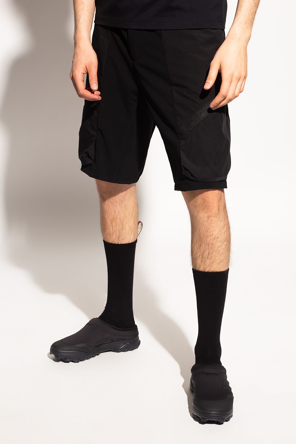 White Mountaineering Shorts with pockets