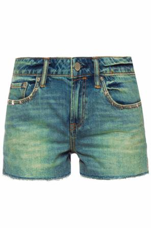 'star' denim shorts od AllSaints