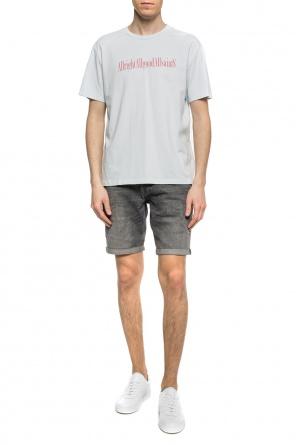 6869d24ef2  switch  distressed denim shorts od AllSaints   ...