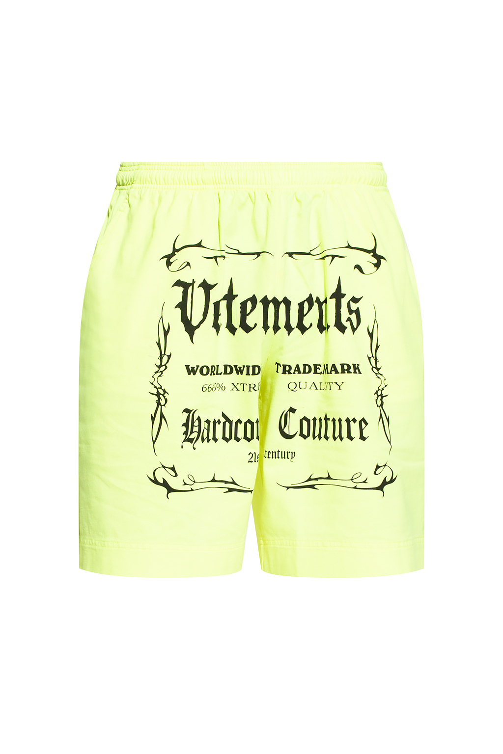 VETEMENTS Shorts with logo