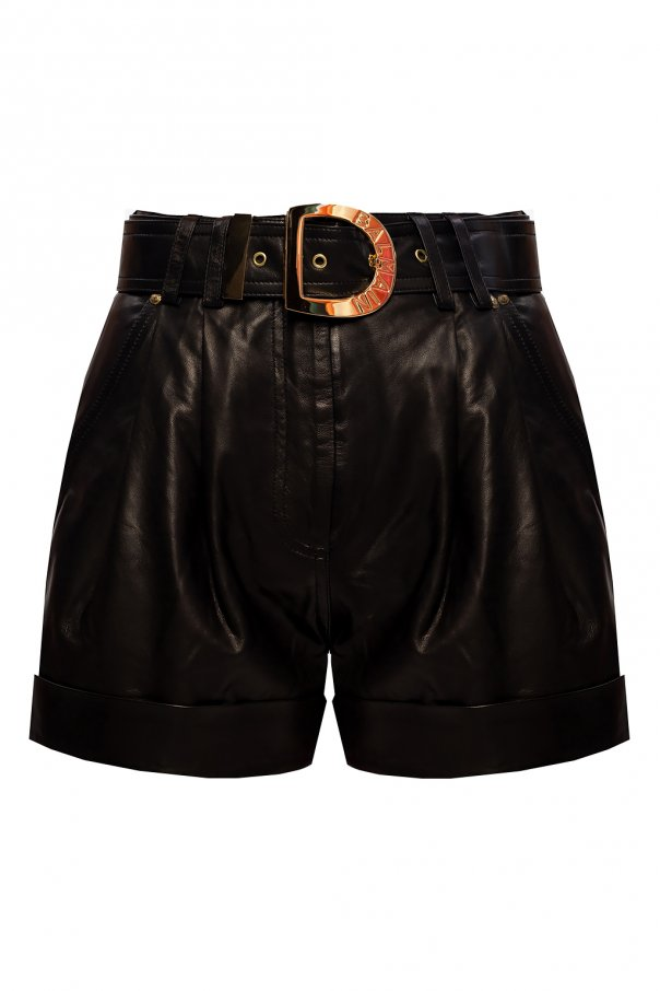 Balmain High-waisted shorts