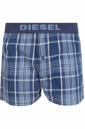 Checked pyjama shorts od Diesel