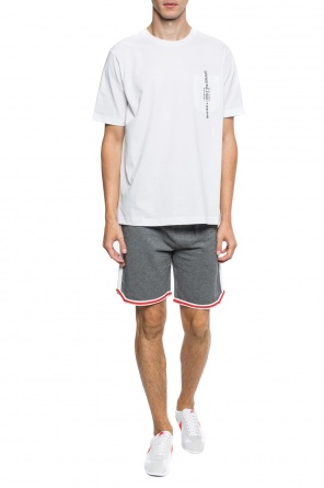 Shorts with embroidered logo od Diesel