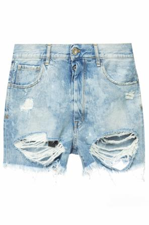 Denim shorts with holes od Unravel Project