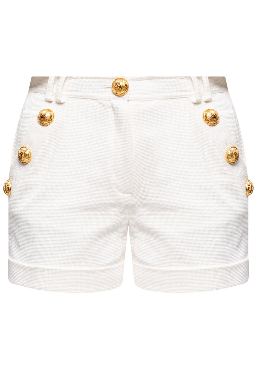 Balmain Shorts with turn-up cuffs