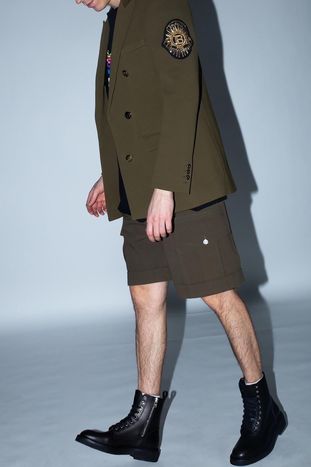 Balmain Shorts with pockets