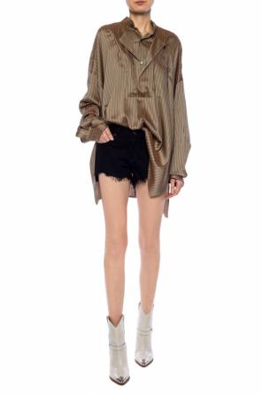 Raw-trimmed denim shorts od Rag & Bone