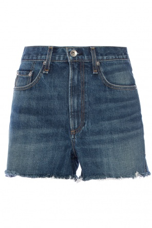 Raw-edge denim shorts od Rag & Bone