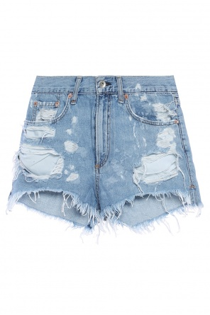 Denim shorts with holes od Rag & Bone