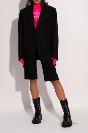 Pinstriped shorts od VETEMENTS