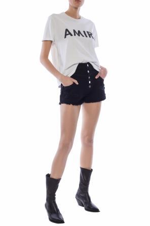 ba48a73983a Stonewashed denim shorts od Amiri ...