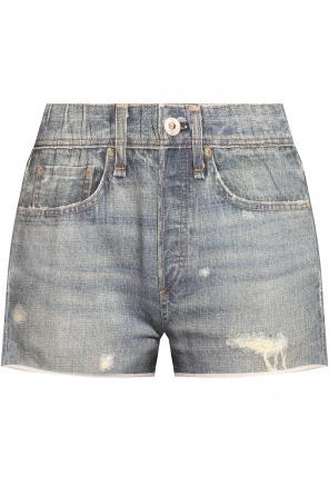 Shorts with denim motif od Rag & Bone