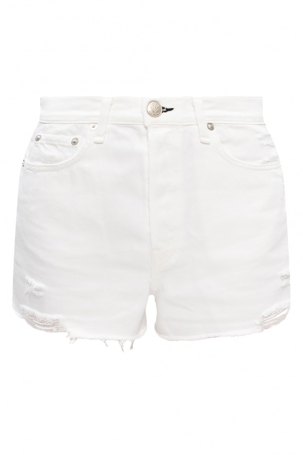 Rag & Bone  Denim shorts with logo