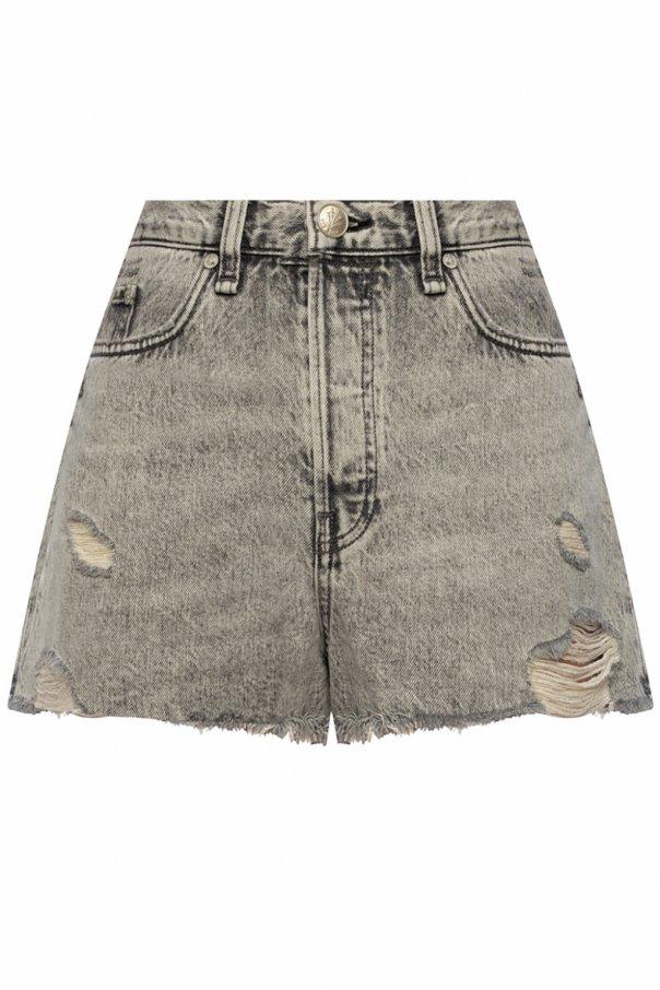Rag & Bone  High-waisted shorts