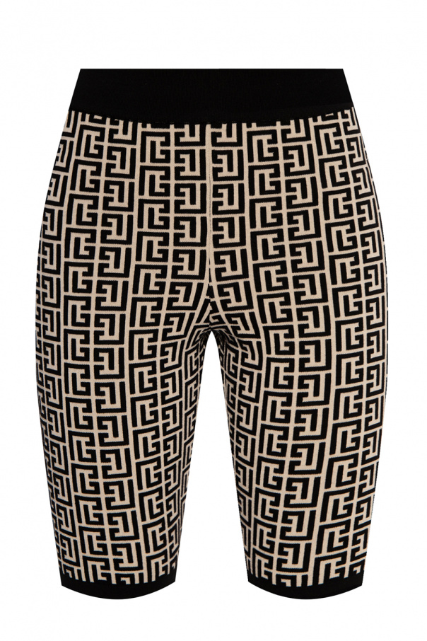 Balmain Shorts with logo
