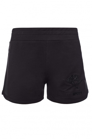 Shorts with tiger head od Plein Sport