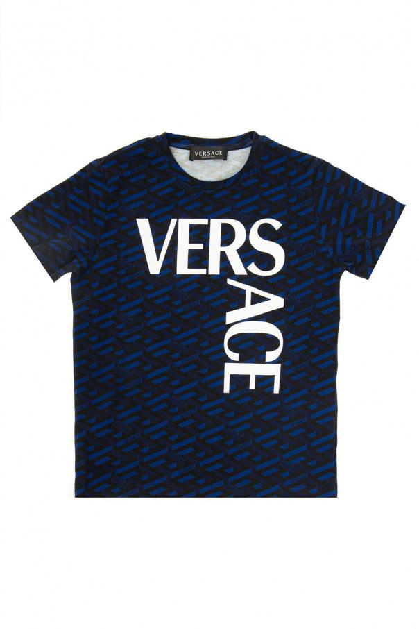 Versace Young Wzorzysty t-shirt
