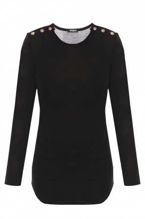 Blouse with long sleeves od Balmain