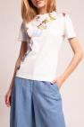 Salvatore Ferragamo T-shirt with floral motif