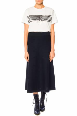 T-shirt with a logo od Sonia Rykiel