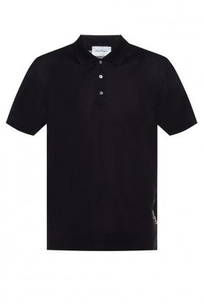 Logo-embroidered polo shirt od Salvatore Ferragamo