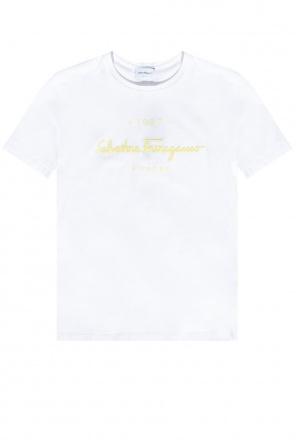 Logo t-shirt od Salvatore Ferragamo