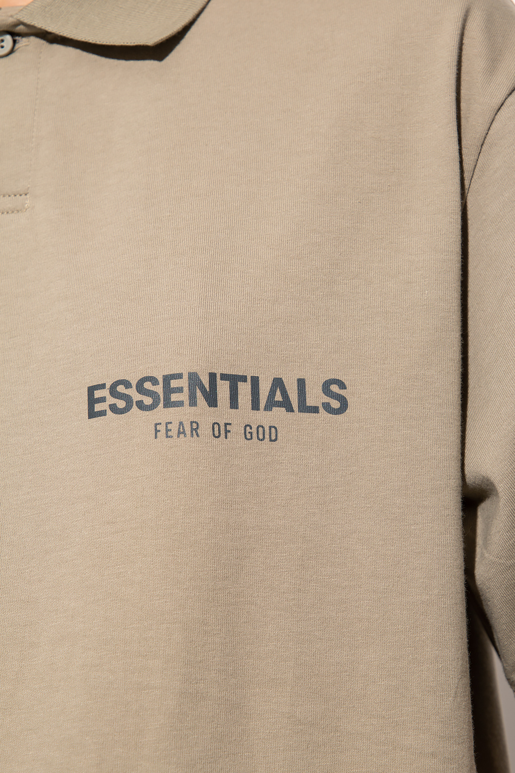 Fear Of God Essentials Polo shirt with logo