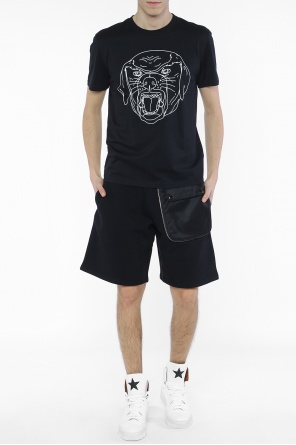 Rottweiler head-printed t-shirt od Givenchy