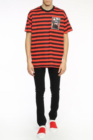 Printed stripe t-shirt od Givenchy