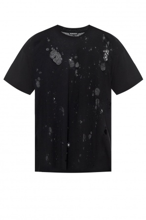 T-shirt with holes od Ann Demeulemeester