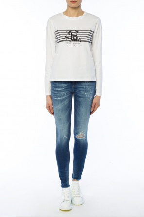 T-shirt with long sleeves od Sonia Rykiel