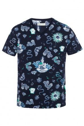 Patterned t-shirt od Etro