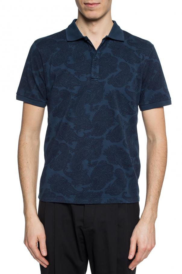 Patterned polo shirt od Etro