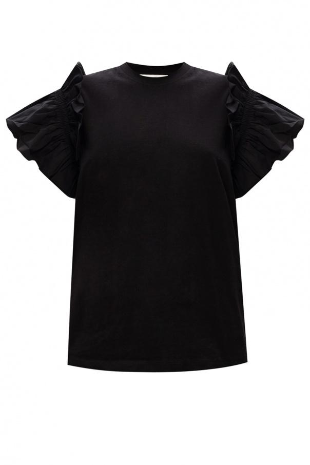 Victoria Victoria Beckham Ruffled T-shirt