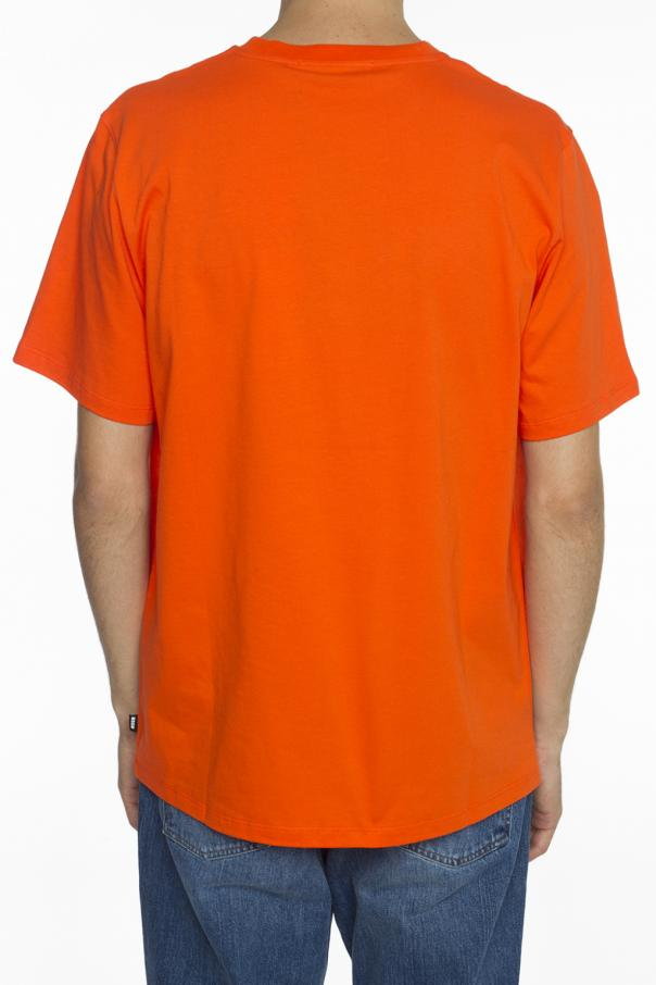 Inscription-printed t-shirt od MSGM